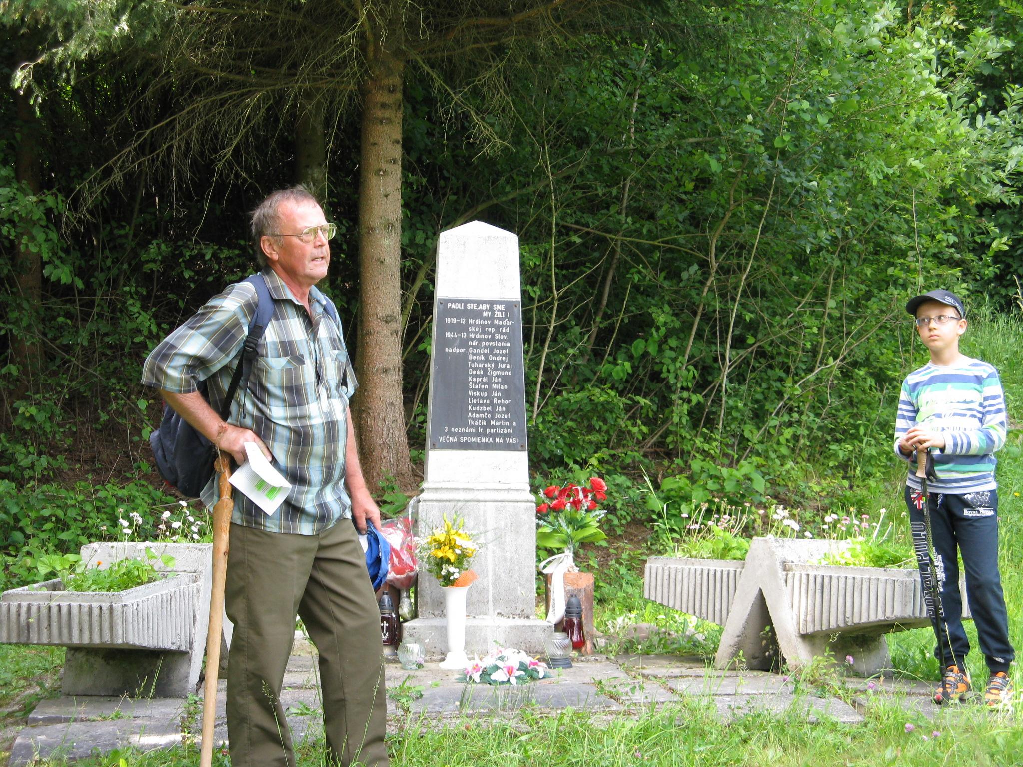 príhovor pri pamätníku padlých vojakov